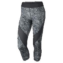 Женские тренировочные капри Nike Pro Hypercool Tidal MultiЖенские тренировочные капри Nike Pro Hypercool Tidal Multi из эластичной влагоотводящей ткани и сетки для совершенного комфорта и оптимальной вентиляции там, где это необходимо.  Воздухопроницаемость  Вставки из эластичной сетки повторяют изгибы ног и дарят приятное ощущение прохлады во время жарких тренировок.<br>