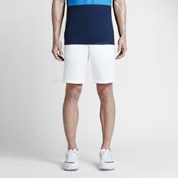 Мужские шорты для гольфа Nike Modern Tech WovenМужские шорты для гольфа Nike Modern Tech Woven из влагоотводящей, слегка эластичной ткани обеспечивают комфорт и свободу движений на поле.<br>