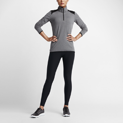 Женские тайтсы Nike SolidИнформация о товареСостав: Основа: Dri-FIT 88% полиэстер/12% спандекс. Подкладка вставки: 100% полиэстер.Машинная стиркаИмпорт<br>