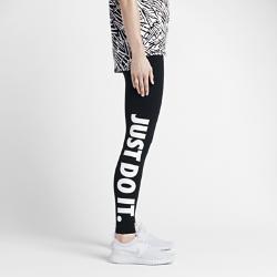 Женские леггинсы с графикой JDI Nike SportswearЖенские леггинсы с графикой JDI Nike Sportswear из эластичного смесового хлопка обеспечивают удобную посадку и не сковывают движений.<br>