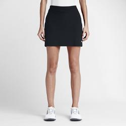 Юбка-шорты для гольфа Nike Tournament KnitЮбка-шорты для гольфа Nike Tournament Knit обеспечивает комфорт и защиту на корте благодаря эластичной влагоотводящей ткани и вшитым компрессионным шортам.<br>