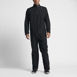 Мужской дождевой костюм для гольфа Nike HyperShieldМужской дождевой костюм для гольфа Nike HyperShield включает легкую куртку и брюки для комфорта в непогоду.<br>