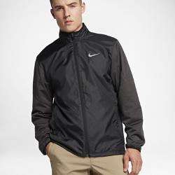 Мужская куртка для гольфа Nike Shield Full-ZipМужская куртка для гольфа Nike Shield Full-Zip блокирует ветер и дождь в сложных погодных условиях.Эластичные вставки обеспечивают свободу движений во время игры.<br>