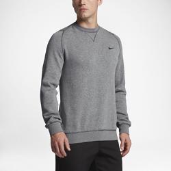 Мужской свитер для гольфа Nike Range CrewМужской свитер для гольфа Nike Range Crew из мягкого хлопка и водоотталкивающей ткани обеспечивает защиту от холода и легкого дождя.<br>