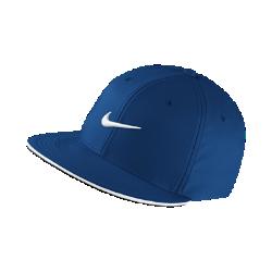 Бейсболка Nike Golf True StatementЛегкая бейсболка Nike Golf True Statement из дышащей влагоотводящей ткани с эластичным кантом обеспечивает абсолютный комфорт во время игры.<br>
