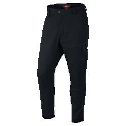 Мужские брюки Nike Bonded WovenМужские брюки Nike Bonded Woven из эластичной ткани обеспечивают удобную посадку благодаря заниженному шаговому шву и зауженному крою. Множество карманов для всего самого необходимого и штанины на молнии для создания индивидуального образа.<br>