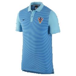 Мужская футболка-поло Croatia Authentic SlimМужская футболка-поло Croatia Authentic Slim с отложным воротником и тканой эмблемой на мягкой хлопковой ткани создана в винтажном стиле команды.<br>