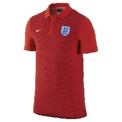 Мужская футболка-поло England Authentic SlimМужская футболка-поло England Authentic Slim с отложным воротником и тканой эмблемой на мягкой хлопковой ткани создана в винтажном стиле команды.<br>