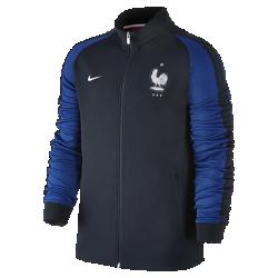 Мужская куртка FFF Authentic N98Мужская куртка FFF Authentic N98 из прочной ткани с воротником-стойкой с молнией до подбородка обеспечивает комфорт и защиту от холода.<br>