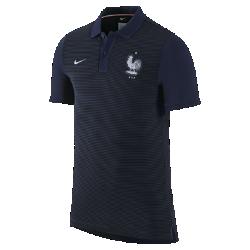 Мужская футболка-поло FFF Authentic SlimМужская футболка-поло FFF Authentic Slim с отложным воротником и тканой эмблемой на мягкой хлопковой ткани создана в винтажном стиле команды.<br>