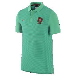Мужская рубашка-поло Portugal Authentic SlimМужская рубашка-поло Portugal Authentic Slim с отложным воротником и тканой эмблемой на мягкой хлопковой ткани создана в винтажном стиле команды.<br>