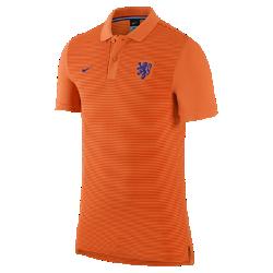 Мужская футболка-поло Netherlands Authentic SlimМужская футболка-поло Netherlands Authentic Slim с отложным воротником и тканой эмблемой на мягкой хлопковой ткани создана в винтажном стиле команды.<br>
