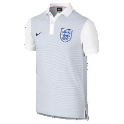 Поло для школьников England Authentic Slim (XS–XL)Поло для школьников England Authentic Slim с отложным воротником и тканой эмблемой на мягкой хлопковой ткани создана в винтажном стиле команды.<br>