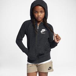 Худи для девочек школьного возраста Nike Sportswear Gym VintageХуди для девочек школьного возраста Nike Sportswear Gym Vintage из невероятно мягкой и легкой смесовой ткани на основе хлопка дополнена большим капюшоном для комфорта и защиты.<br>