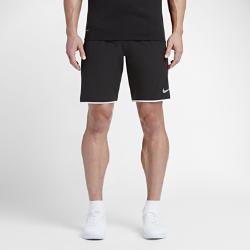 Мужские теннисные шорты из тканого материала NikeCourt Flex 23 смМужские теннисные шорты NikeCourt Flex 23 см из эластичного влагоотводящего тканого материала создают ощущение прохлады и не стесняют движений во время матча.  Свобода движений  Ткань Nike Flex обеспечивает комфорт и эластичность для скорости и свободы движений на корте.  Воздухопроницаемость  Пояс с сетчатой подкладкой обеспечивает зональную вентиляцию во время интенсивных соревнований. Внутренний шнурок создает плотную регулируемую посадку.  Надежная защита на корте  Глубокие боковые карманы обеспечивают надежное хранение мячей и не стесняют движений во время игры.<br>