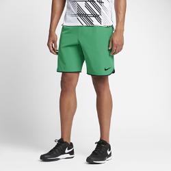 Мужские теннисные шорты из тканого материала NikeCourt Flex 23 смМужские теннисные шорты NikeCourt Flex 23 см из эластичного влагоотводящего тканого материала создают ощущение прохлады и не стесняют движений во время матча.<br>