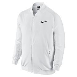 Мужская теннисная куртка NikeCourt PremierМужская теннисная куртка NikeCourt Premier обеспечивает вентиляцию, защиту и комфорт во время тренировок и за пределами корта.<br>