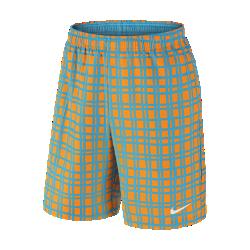Мужские теннисные шорты с принтом NikeCourt 23 смМужские теннисные шорты с принтом NikeCourt 23 см из легкой влагоотводящей ткани обеспечивают комфорт во время игры.<br>