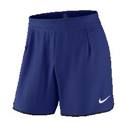 Мужские теннисные шорты NikeCourt Flex Gladiator 18 смЭластичные мужские теннисные шорты NikeCourt Flex Gladiator 18 см не стесняют движений, чтобы ты мог двигаться максимально быстро. Зональная перфорация усиливает вентиляцию идарит приятное ощущение прохлады во время интенсивных матчей.<br>