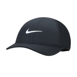 Бейсболка для школьников Nike FeatherlightБейсболка для школьников Nike Featherlight из влагоотводящей ткани с перфорированными панелями обеспечивает вентиляцию и комфорт.<br>