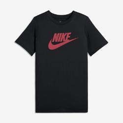 Футболка для мальчиков Nike Futura IconФутболка для мальчиков Nike Futura Icon из прочного 100% хлопка обеспечивает комфорт на каждый день.<br>