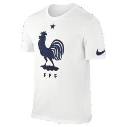 Мужская футболка FFF CrestМужская футболка FFF Crest отдает дань уважения национальной сборной, о чем свидетельствует крупный принт на мягкой хлопковой ткани.<br>
