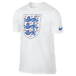Мужская футболка England CrestМужская футболка England Crest отдает дань уважения национальной сборной, о чем свидетельствует крупный принт на мягкой хлопковой ткани.<br>