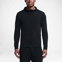 Мужская худи для тренинга с молнией во всю длину Nike Dri-FITМужская худи для тренинга с молнией во всю длину Nike Dri-FIT из мягкой смесовой ткани на основе вискозы отводит влагу, обеспечивая комфорт во время тренировок.<br>