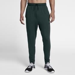 Мужские флисовые брюки для тренинга Nike Dri-FITМужские флисовые брюки для тренинга Nike Dri-FIT из легкой эластичной ткани обеспечивают комфорт, а их заниженный шаговый шов и завышенная посадка позволяют двигаться свободно во время тренировки.<br>