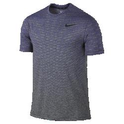 Мужская футболка для тренинга с коротким рукавом Nike DryБлагодаря воздухопроницаемому трикотажу и мягкой влагоотводящей ткани универсальная мужская футболка для тренинга с коротким рукавом Nike Dry обеспечивает прохладуи комфорт во время высокоинтенсивных тренировок.<br>