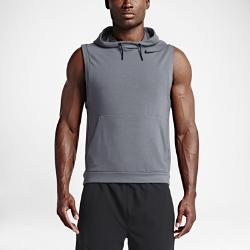 Мужская худи для тренинга без рукавов Nike DryМужская худи для тренинга без рукавов Nike Dry из легкой влагоотводящей флисовой ткани плотно прилегает к телу, обеспечивая вентиляцию, комфорт и свободу движений в зале или на поле.<br>