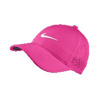 <ナイキ(NIKE)公式ストア> ナイキ パーフォレイト ウィメンズ アジャスタブル ゴルフキャップ 742707-640 ピンク画像