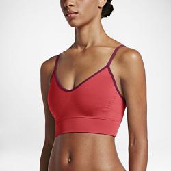 Бра без косточек для тренинга Nike Zoned Sculpt StrappyБра без косточек для тренинга Nike Zoned Sculpt Strappy с регулируемыми бретелями и широкой кромкой обеспечивает легкую поддержку во время тренировок в зале.  Легкая поддержка  Компрессионные моделирующие форму чашки создают красивый силуэт и обеспечивают легкую поддержку для тренировок низкой интенсивности, например, для йоги.  Универсальная посадка  Идеальная посадка позволяет носить эту модель отдельно или в сочетании с другой одеждой&amp;#8212;перекрещивающиеся бретели из невероятно мягкой ткани можно регулировать.  Комфорт  Мягкая ткань Dri-FIT обеспечивает превосходную воздухопроницаемость и комфорт, выводя влагу на поверхность ткани и позволяя коже дышать.<br>