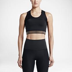 Женский топ для тренировок Nike MotionЖенский топ для тренировок Nike Motion гарантирует оптимальную вентиляцию, свободу движений, поддержку и плотную компрессионную посадку благодаря эластичной ткани, укороченному силуэту и применению специальной сетки на спине.<br>
