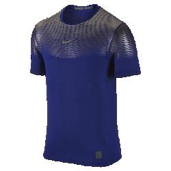 Мужская футболка для тренинга Nike Pro Hypercool MaxМужская футболка для тренинга Nike Pro Hypercool Max, созданная с применением новейших технологий, отводит влагу и помогает сохранить ощущение прохлады во время тренировоквысокой интенсивности.<br>