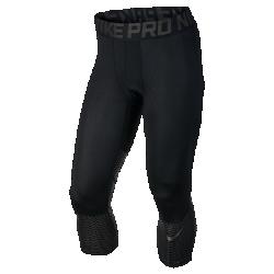 Мужские тайтсы для тренинга длиной 3/4 Nike Pro HyperCoolЗащита от перегреваГрафика ниже колена отражает солнечные лучи, обеспечивая приятную прохладу во время длительных тренировок на улице.<br>