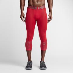 Мужские тайтсы для тренинга длиной 3/4 Nike Pro HyperCoolМужские тайтсы для тренинга длиной 3/4 Nike Pro HyperCool из влагоотводящей ткани со вставками из сетки обеспечивают охлаждение и комфорт во время тренировок.<br>
