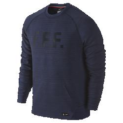 Мужской свитшот FFF Tech FleeceМужской свитшот FFF Tech Fleece создан из теплой воздухопроницаемой ткани, которая гарантирует комфорт и теплоизоляцию без утяжеления. Логотип команды на груди — дань уважения мастерству игроков.<br>