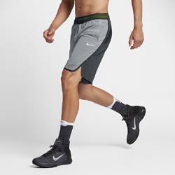 Мужские баскетбольные шорты Nike Aeroswift 23 смМужские баскетбольные шорты Nike Aeroswift 23 см обеспечивают вентиляцию без утяжеления и полную свободу движений для самой высокой скорости от старта до финиша.  Легкость и вентиляция  Вставки из трикотажной сетки, лазерная перфорация и пояс Flyvent усиливают вентиляцию, обеспечивая исключительный комфорт.  Свобода движений  Увеличенные разрезы в нижней кромке, шаговый шов 23 см и длина чуть выше колена обеспечивают полную свободу движений в любом направлении.<br>