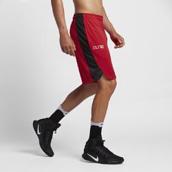 Мужские баскетбольные шорты Nike EliteМужские баскетбольные шорты Nike Elite из влагоотводящей ткани с разрезами в нижней кромке обеспечивают непревзойденный комфорт, вентиляцию и свободу движений.<br>