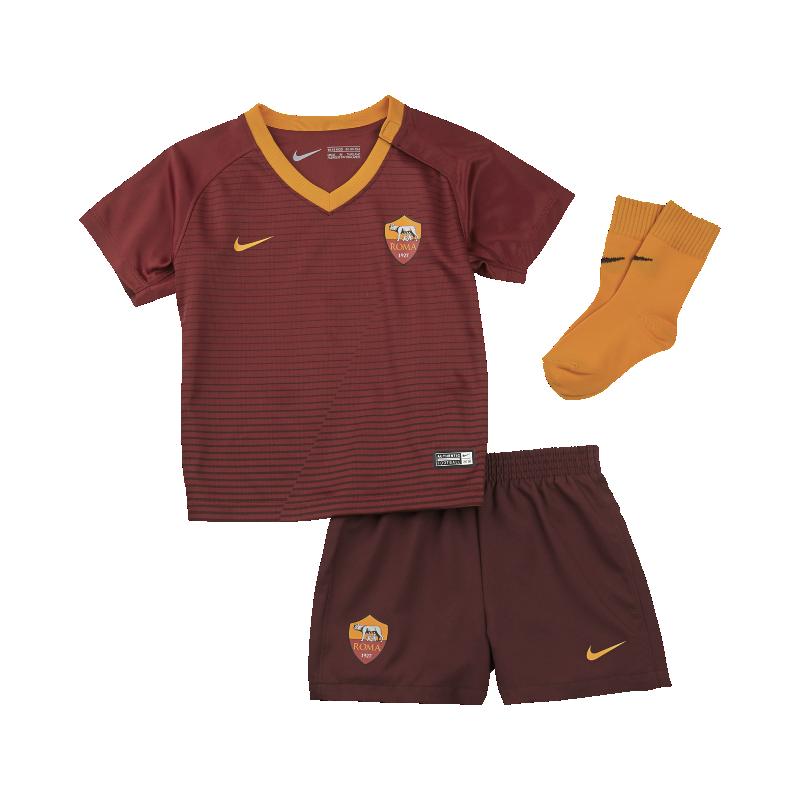 2016/17 A.S. Roma Stadium Home Baby & Toddler Football Kit