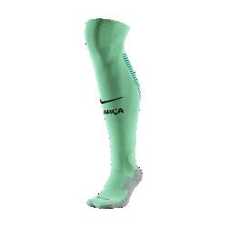 Футбольные носки 2016/17 F.C. Barcelona Stadium ThirdФутбольные носки 2016/17 F.C. Barcelona Stadium Third из влагоотводящей ткани с компрессией в области свода стопы обеспечивают функциональный комфорт и поддержку.<br>
