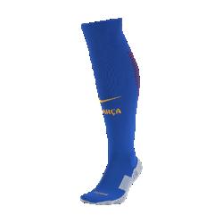 Футбольные носки 2016/17 FC Barcelona Stadium Home/Away GoalkeeperФутбольные носки 2016/17 FC Barcelona Stadium Home/Away Goalkeeper из ткани Dri-FIT облегают свод стопы и обеспечивают поддержку и функциональный комфорт.<br>