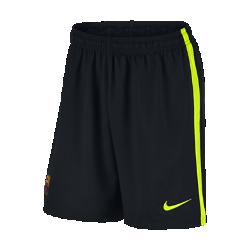 Мужские футбольные шорты 2016/17 FC Barcelona StadiumМужские футбольные шорты 2016/17 FC Barcelona Stadium обеспечивают комфорт без утяжеления, когда ты болеешь за команду с трибун или просто идешь по улице.<br>