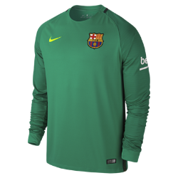 Мужское футбольное джерси 2016/17 FC Barcelona Stadium GoalkeeperМужское футбольное джерси 2016/17 FC Barcelona Stadium Goalkeeper изготовлено из легкой влагоотводящей ткани для комфорта во время игры и на каждый день.<br>