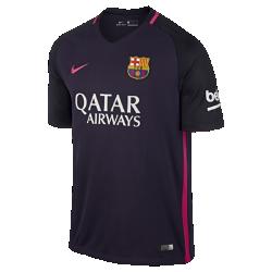 Мужское футбольное джерси 2016/17 FC Barcelona Stadium AwayМужское футбольное джерси 2016/17 FC Barcelona Stadium Away из легкой ткани обеспечивает комфорт каждый день.<br>