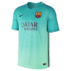 Мужское футбольное джерси 2016/17 F.C. Barcelona Stadium ThirdМужское футбольное джерси 2016/17 F.C. Barcelona Stadium Third обеспечивает комфорт без утяжеления, когда ты болеешь за команду с трибун или просто идешь по улице.<br>