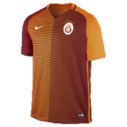 Мужское футбольное джерси 2016/17 Galatasaray S.K. Stadium HomeМужское футбольное джерси 2016/17 Galatasaray S.K. Stadium Home из легкой ткани обеспечивает комфорт на каждый день.<br>