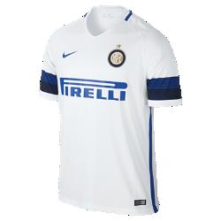 Мужское футбольное джерси 2016/17 Inter Milan Stadium AwayМужское футбольное джерси 2016/17 Inter Milan Stadium Away из легкой ткани обеспечивает комфорт каждый день.<br>