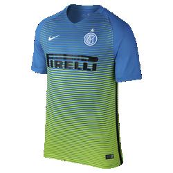 Мужское футбольное джерси 2016/17 Inter Milan Stadium ThirdМужское футбольное джерси 2016/17 Inter Milan Stadium Third обеспечивает комфорт без утяжеления, когда ты болеешь за команду с трибун или просто идешь по улице.<br>